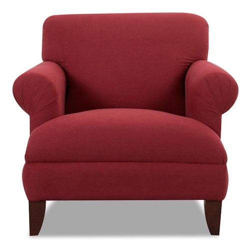 Elliston Place Sheldon Upholstered Stationary Accent Chair