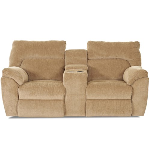 Elliston Place St Andrew Casual Reclining Loveseat with Console