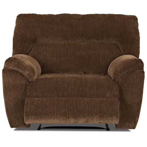 Elliston Place St Andrew Casual Style Reclining Big Chair with Padded Pillow Arms