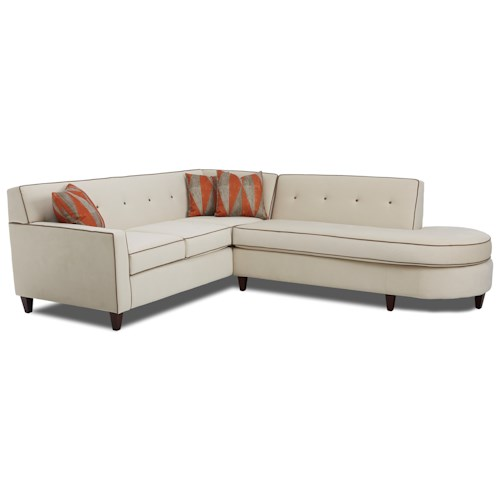 Elliston Place Staten Staten Sectional with RAF Chaise