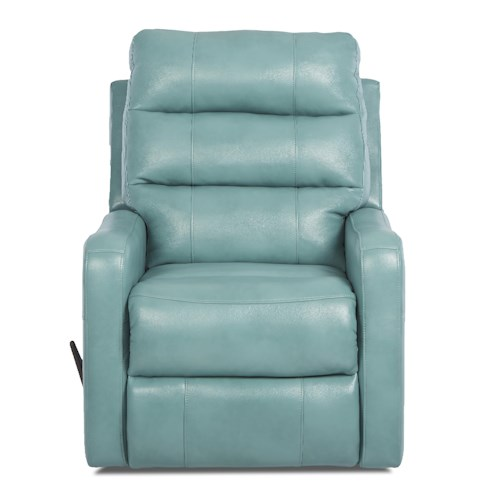 Elliston Place Striker Contemporary Gliding Reclining Chair