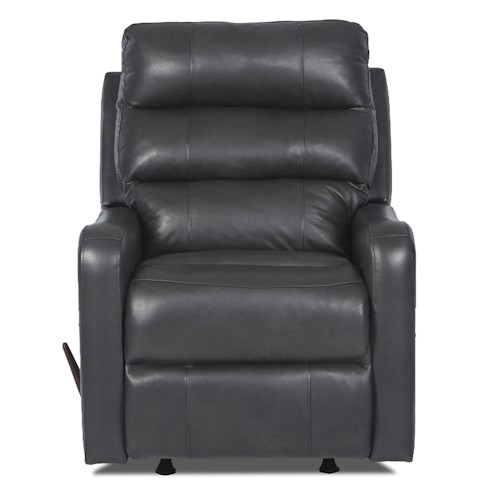 Elliston Place Striker Contemporary Swivel Gliding Reclining Chair