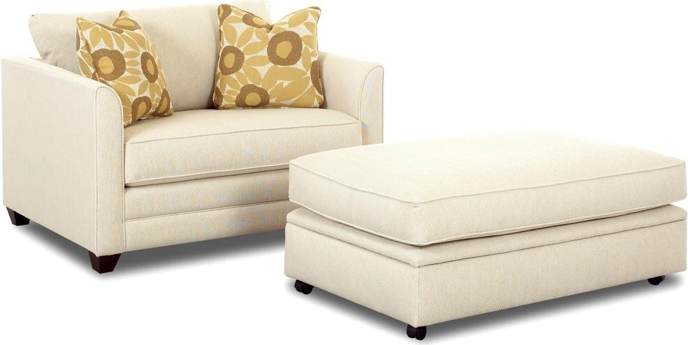 Twin Sleeper with Storage Ottoman