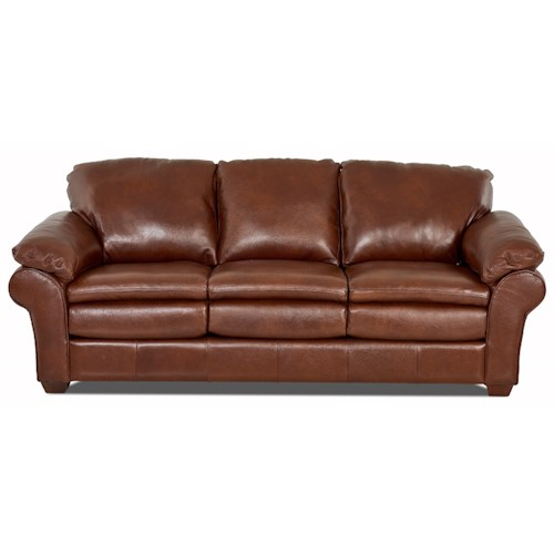 Elliston Place Tipton Casual Sofa with Pillow Arms