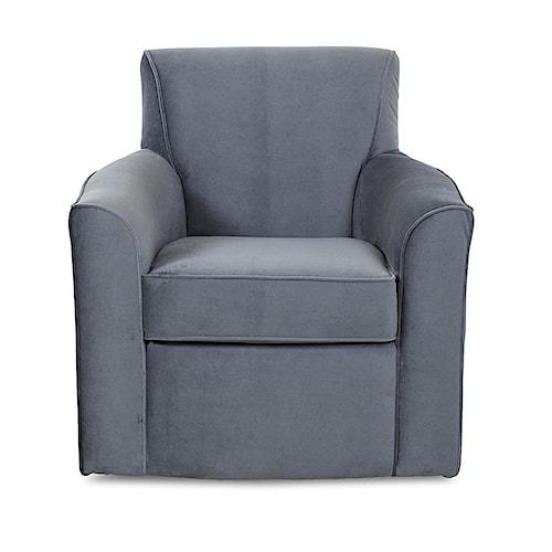 Elliston Place Titus  Contemporary Swivel Chair