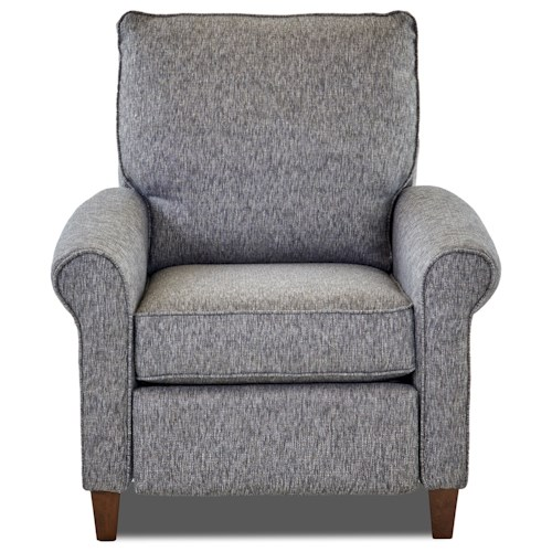 Elliston Place Township Casual Power Motion High Leg Recliner