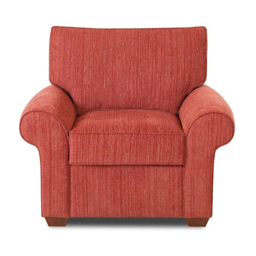 Elliston Place Troupe Upholstered Chair