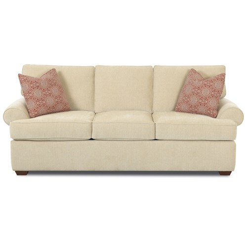 Belfort Basics Choices Custom Upholstery Upholstered Sofa
