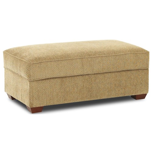 Elliston Place Troupe Rectangular Cocktail Storage Ottoman