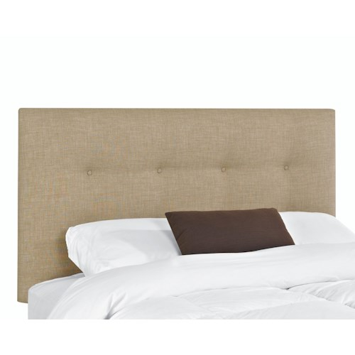 Elliston Place Upholstered Beds and Headboards Duncan King Upholstered Headboard with Tufting