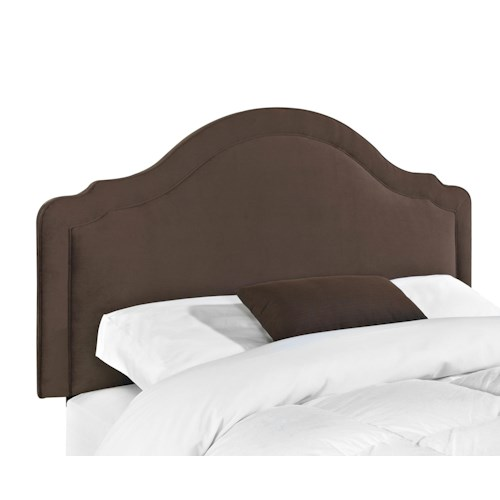 Elliston Place Upholstered Beds and Headboards Rabin Twin Headboard with Arched Top