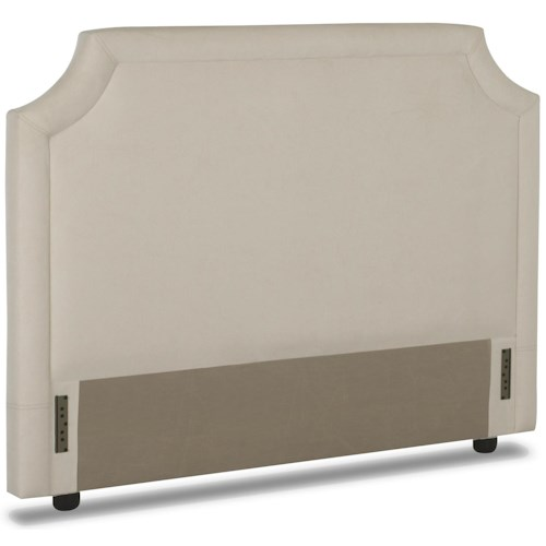 Elliston Place Upholstered Beds and Headboards Queen Upholstered Headboard with Tufted Trim