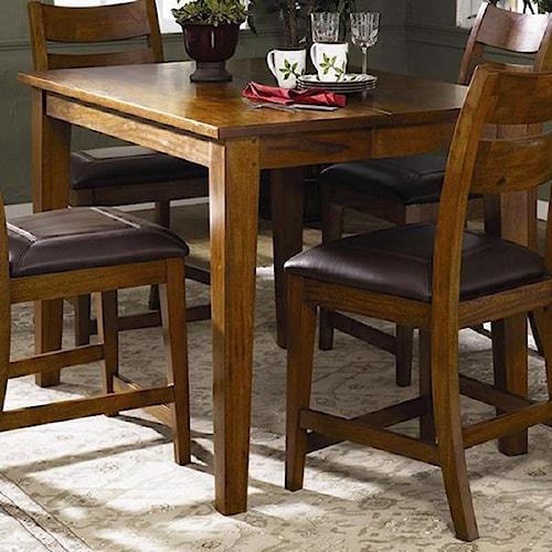 Morris Home Furnishings Tuscon Rectangular Counter Height Table