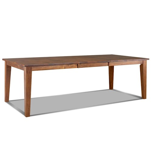 Morris Home Furnishings Tuscon Rectangular Dining Room Table with Leaf