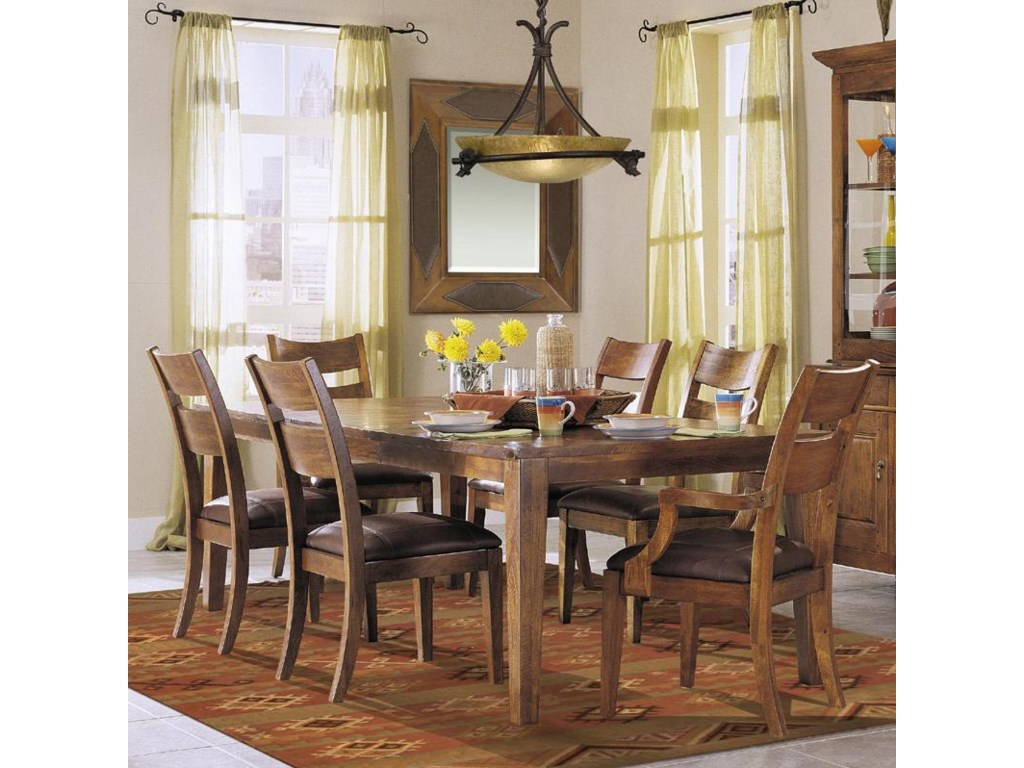 Shown as part of 7-piece dining set.