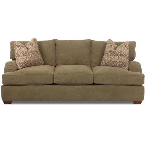Klaussner Vaughn Queen Sleeper Sofa with Innerspring Mattress