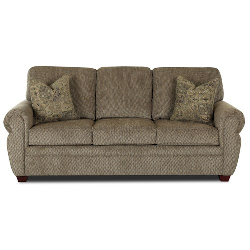 Klaussner Westbrook Rolled Arm Sofa