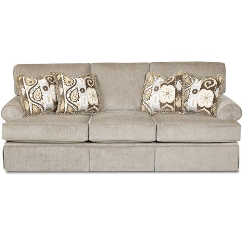 Elliston Place Westerly Casual Queen Dreamquest Sleeper Sofa