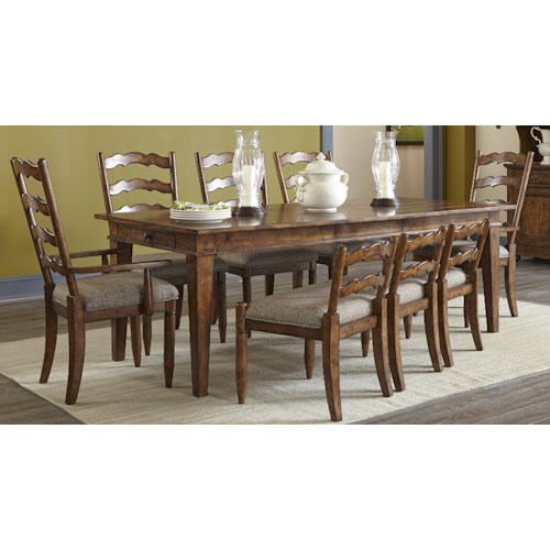 Elliston Place Willow Creek 5-Piece Dining Set
