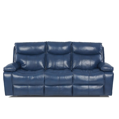 Elliston Place Wilson Contemporary Reclining Sofa