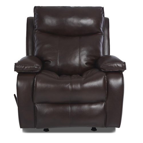 Elliston Place Wilson Contemporary Swivel Rocking Reclining Chair