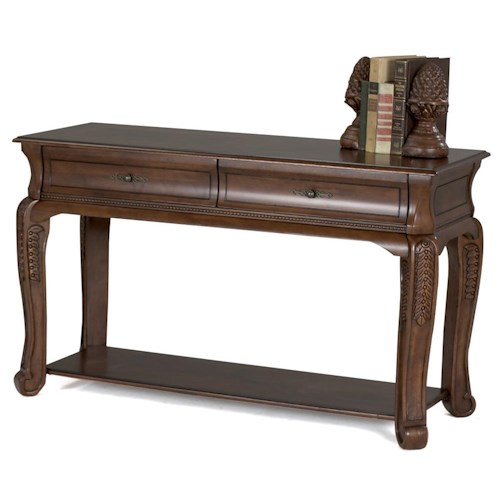 Morris Home Furnishings Winchester 2 Drawer Sofa Table