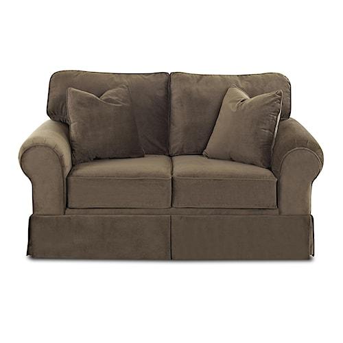 Belfort Basics Woodwin Upholstered Loveseat