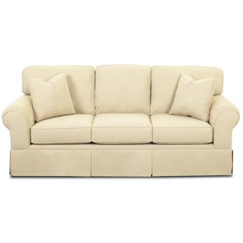 Elliston Place Woodwin Innerspring Queen Sleeper Sofa