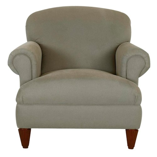 Klaussner Wrigley Casual Upholstered Stationary Chair