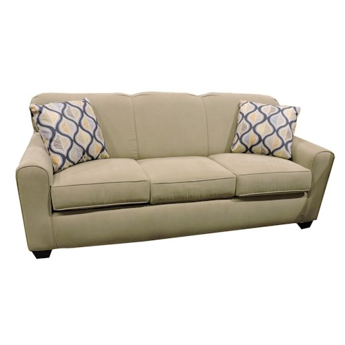 Belfort Basics Zuma  Queen Enso Mattress Sleeper Sofa