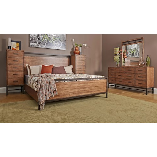 Klaussner International Affinity California King Bedroom Group
