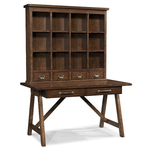 Morris Home Furnishings Livingston Desk and Hutch