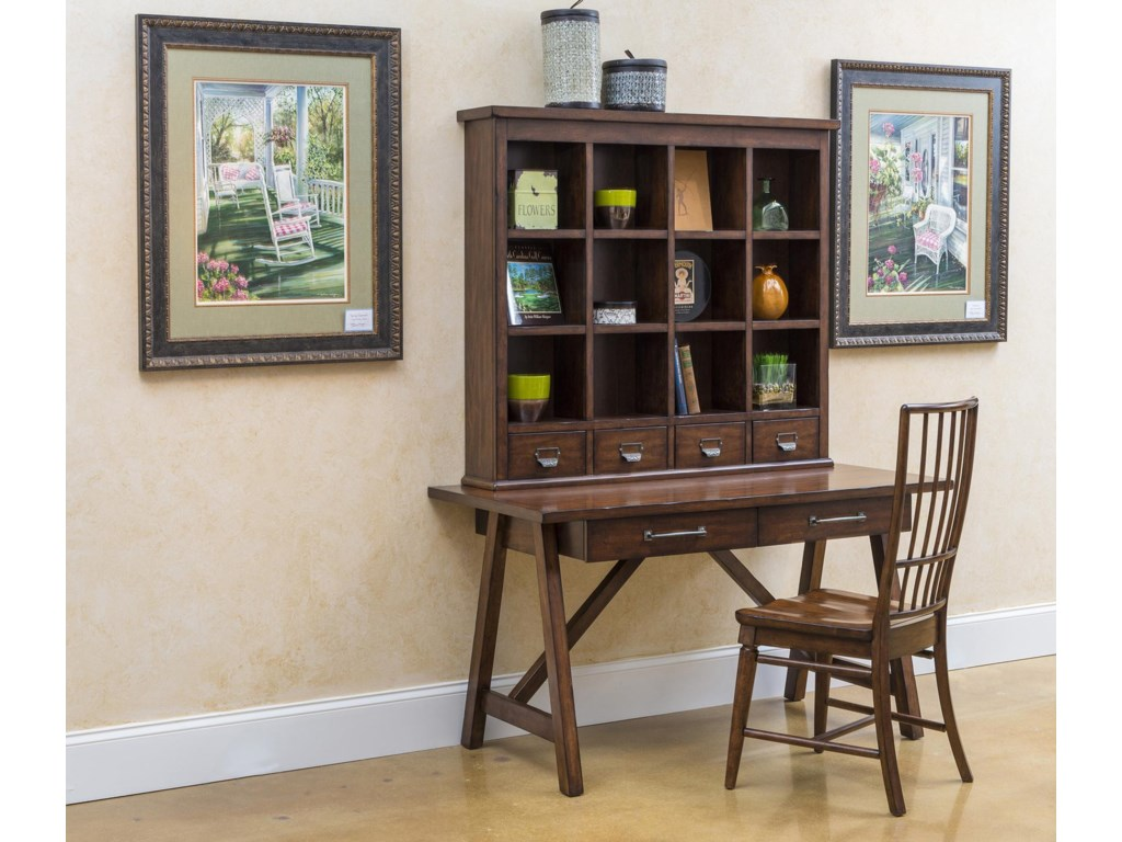 Shown with Desk Hutch