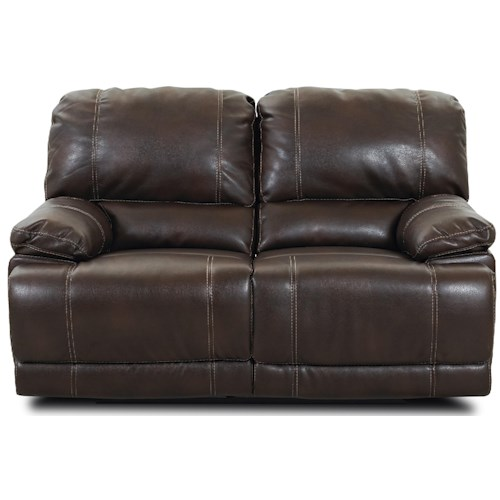 Morris Home Furnishings Darius Double Reclining Love Seat