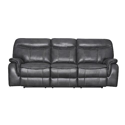 Belfort Basics Ranger Casual Power Reclining Sofa with Pillow Top Arms