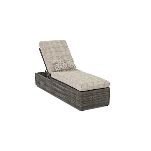 Klaussner Outdoor  Cascade Outdoor Chaise