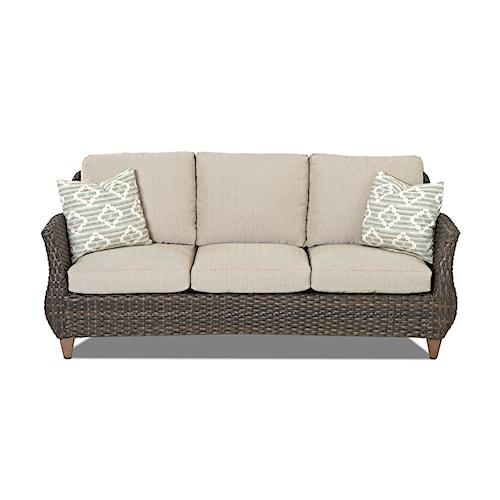 Klaussner Outdoor  Sycamore Outdoor Sofa
