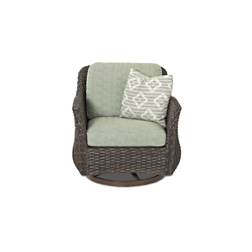 Klaussner Outdoor  Sycamore Outdoor Swivel Glider Chair
