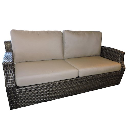 Belfort Outdoor Cascade Outdoor Sofa