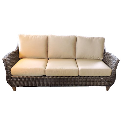 Belfort Outdoor Sycamore Outdoor Sofa