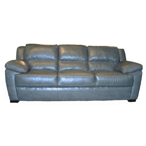 BFW Lifestyle 1963 Casual Sofa with Wide Pillow Arms