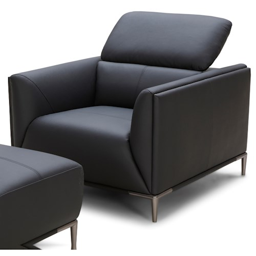 Urban Evolution 5167 Contemporary Chair with Movable Back