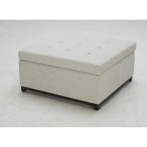 BFW Lifestyle Accent Ottomans Storage Ottoman with Tufting