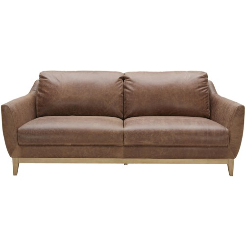 Urban Evolution Baker 2-Seater Sofa with Flared Arms