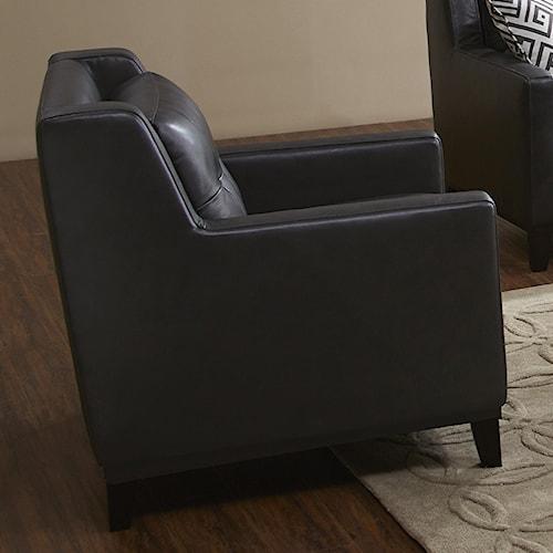 Urban Evolution Devon Chair with Button Tufting