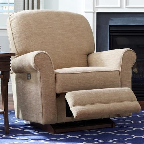 La-Z-Boy Addison Transitional Power-Recline-XR Rocking Recliner