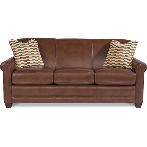 La-Z-Boy Amanda Casual Sofa with Premier ComfortCore Cushions