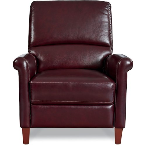 La-Z-Boy Augustus Transitional Leather Pushback Recliner