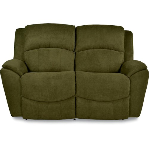 La-Z-Boy BARRETT Casual Power La-Z-Time® Full Reclining Loveseat with Pillow Arms
