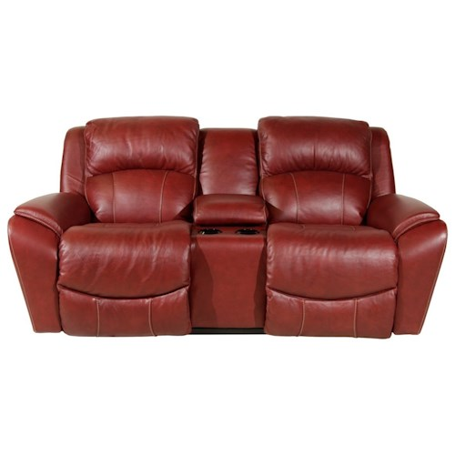 La-Z-Boy BARRETT Casual Power La-Z-Time® Full Reclining Loveseat with Storage Console